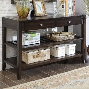 Mandel Transitional Console Table