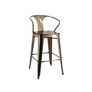Alaina Brushed 71cm Bar Stool By Williston Forge