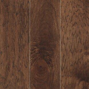 La Grotta 5 inch  Engineered Hickory Hardwood Flooring in Truffle