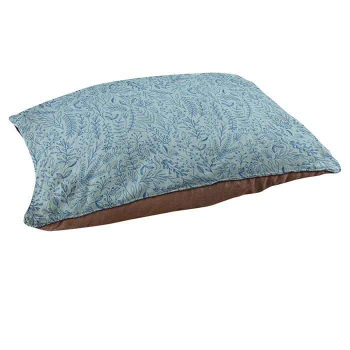 Blue Ditsy Blue Cuddle Me Pillow