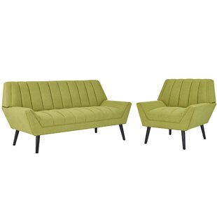 Elaina 2 Piece Standard Living Room Set by George Oliver