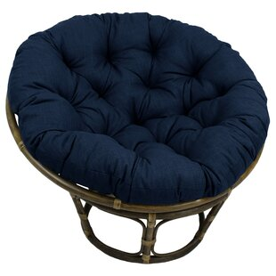 Sensational Indoor Outdoor Papasan Cushion Onthecornerstone Fun Painted Chair Ideas Images Onthecornerstoneorg