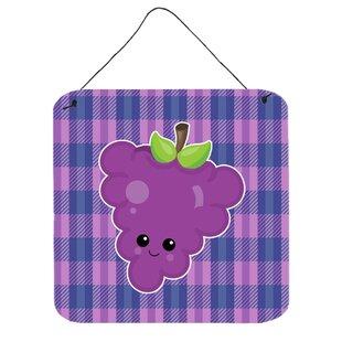 Grape Face Wall Décor