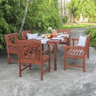 Stephenie 6 Piece Patio Dining Set