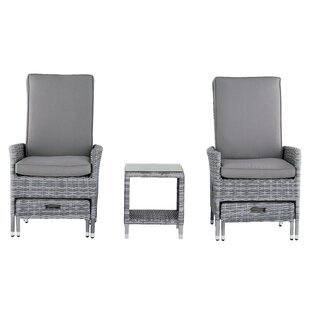 Vallauris 5 Piece Conversation Set with Cushions