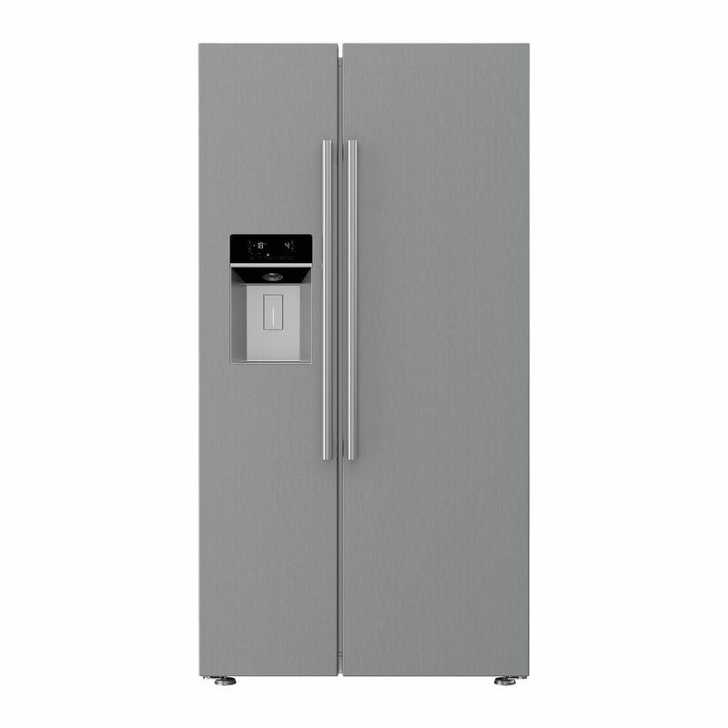 Blomberg 19.32 cu. ft. Counter Depth Side-by-Side Refrigerator