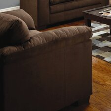 Unique Microfiber Chair And A Half With Ottoman Sectional Sofa