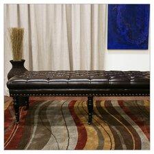 Baxton Studio Lexington Bonded Leather Bench by Wholesale Interiors