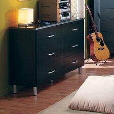 Lexington 6 Drawer Double Dresser by South Shore