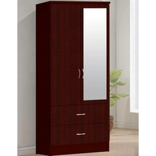 2 Door Armoire by Hodedah