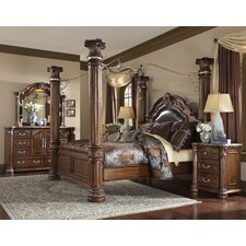 Monte Carlo II Canopy Customizable Bedroom Set by Michael Amini