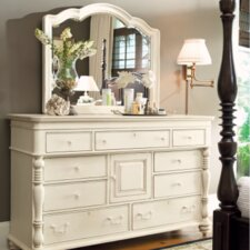 Steel Magnolia 9 Drawer Combo Dresser with Mirror by Paula Deen Home