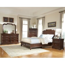 Signature Panel Customizable Bedroom Set by American Woodcrafters