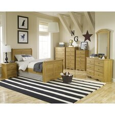 Oak Creek Sleigh Customizable Bedroom Set by Lang Furniture