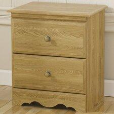 Oak Creek 2 Drawer Nightstand by Lang Furniture
