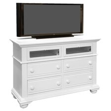 Cottage Traditions 4 Drawer Media Dresser by American Woodcrafters