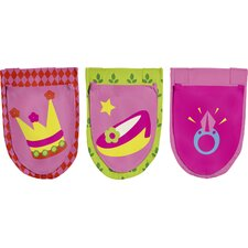 Textiles Princess Bed Pocket (Set of 3) by FLEXA Best Price