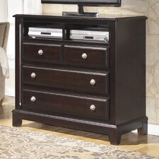 Ridgley 4 Drawer Media Chest by Signature Design by Ashley