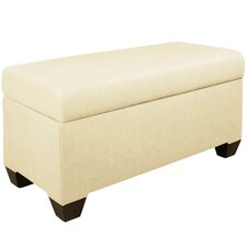 Chambers Upholstered Storage Bedroom Bench by Skyline Furniture