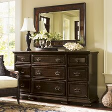 Island Traditions 9 Drawer Dresser with Mirror by Tommy Bahama Home