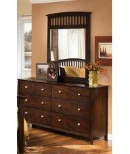 Jana 8 Drawer Dresser with Mirror by Wildon Home ®