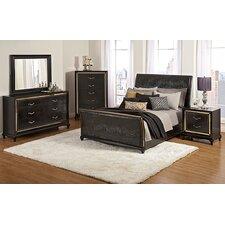 Ibiza Sleigh Customizable Bedroom Set by Najarian Furniture