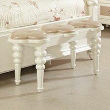 Paris Bedside Upholstered Bedroom Bench by Najarian Furniture