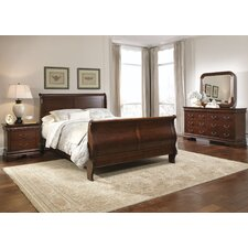 Carriage Court Sleigh Customizable Bedroom Set by Liberty Furniture