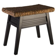 Bermuda Wood Bench by Elegant Home Fashions