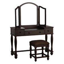 Vanity Set with Mirror by Powell Furniture