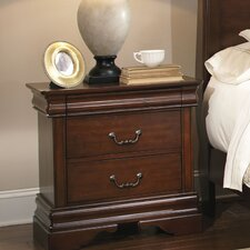 Carriage Court 2 Drawer Nightstand by Liberty Furniture