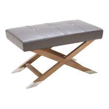 5West Vivian Leather Bench by Sunpan Modern