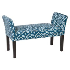 Kelsey Wood Entryway Bench by Ave Six