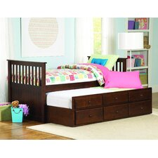 Zachary Twin / Twin Trundle Bed by Woodhaven Hill
