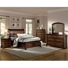 Cumberland Panel Customizable Bedroom Set by Woodhaven Hill
