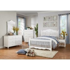 Emmaline 6 Drawer Dresser with Mirror by Woodhaven Hill
