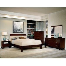 Claran Queen Platform Customizable Bedroom Set by Woodhaven Hill