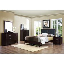 Edina Queen Platform Customizable Bedroom Set by Woodhaven Hill
