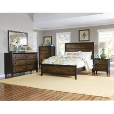 Arcola Queen Panel Customizable Bedroom Set by Woodhaven Hill