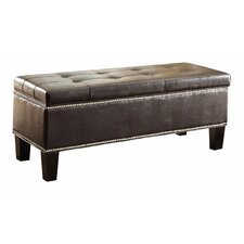 Reverie Upholstered Storage Entryway Bench by Woodhaven Hill