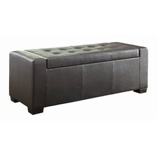 Tigard Upholstered Storage Entryway Bench by Woodhaven Hill