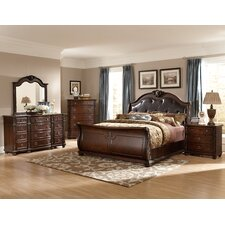 Hillcrest Manor Sleigh Customizable Bedroom Set by Woodhaven Hill