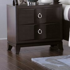 Edmonston 2 Drawer Nightstand by Woodhaven Hill