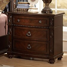Hillcrest Manor 3 Drawer Bachelor's Chest by Woodhaven Hill