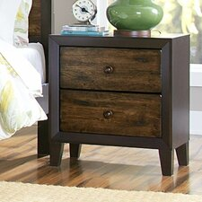 Arcola 2 Drawer Nightstand by Woodhaven Hill