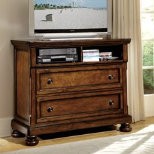 Cumberland 2 Drawer Media Chest by Woodhaven Hill
