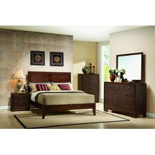 Queen Platform Customizable Bedroom Set by InRoom Designs