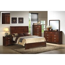 Queen Panel Customizable Bedroom Set by InRoom Designs