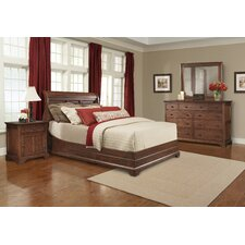 Retreat Cherry Platform Customizable Bedroom Set by Cresent Furniture