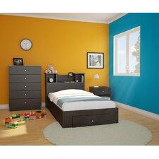 Pocono Platform Customizable Bedroom Set by Nexera